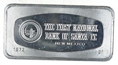 The First National Bank of Santa Fe 65.5g .925 Fine Silver - Franklin Mint *867