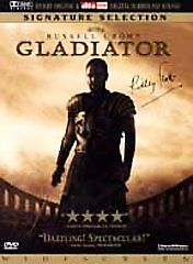 Gladiator (DVD, 2000, 2-Disc Set) Russell Crowe Dolby sound