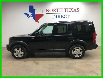 Land Rover LR3 SE 3rd Seat Heated Leather Sunroof AWD All Wheel D 2006 SE 3rd Seat Heated Leather Sunroof AWD All Wheel D Used 4L V6 12V Automatic