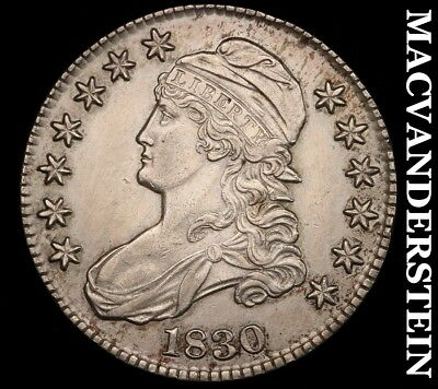 1830 Capped Bust Half Dollar - Choice  Almost Uncirculated!!  #h5881