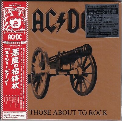 Ac / Dc - For Those About To Rock. Japan.obi.mini-Lp Sleeve
