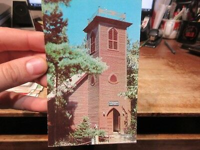 Vintage Old Postcard IOWA Little Brown Church in the Vale Wildwood Dr Wm Pitts