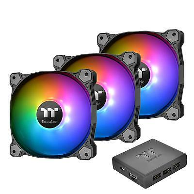 Thermaltake Pure Plus 14 RGB Radiator Fan TT Premium Edition (3Pack)
