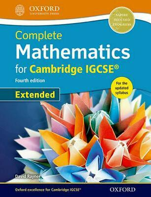 Complete Mathematics for Cambridge Igcse (r) Student Book (extended) by David Ra