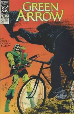 Green Arrow (1st Series) #43 1991 FN Stock Image