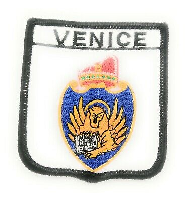 FREE UK P/&P Athens on Shield Embroidered Sew on patch