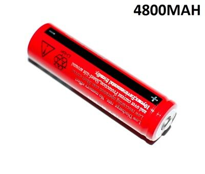 1X PILA RECARGABLE 18650 4800MAH 4,2V PILAS POWERBANK BANK 4800 mah 4.8A 4,8A