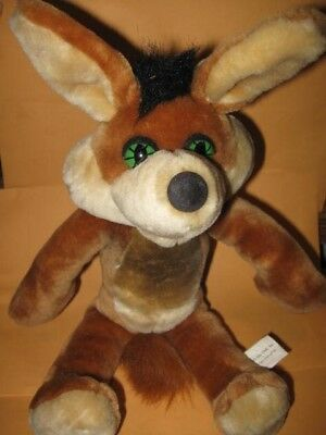 "preowned 16""  COYOTE Plush stuffed animal THAT'S MY DOLL ADORABLE spurs"