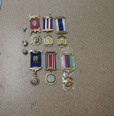 R.a.o.b Buffaloes Medals & Badges. 2 Silver Medals. 6 Medals In Total