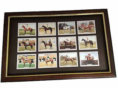 Horse Racing Framed Trading Cards Set Lester Piggott