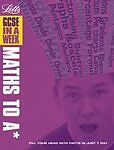 GCSE in a Week – Maths to A, Mapp, Fiona, Very Good Book