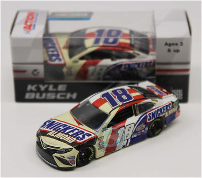 New 2018 Kyle Busch #18 Snickers Almond 1/64 Car In Stock