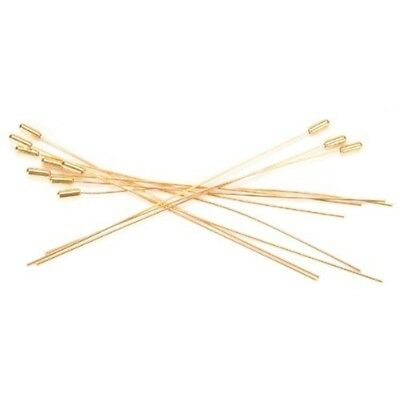 Darice 12-piece Hat Pin, 6-inch, Gold - Pins 6 12pkg 15cm Nickel Delivery Free