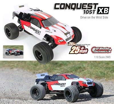 Helion CONQUEST 10ST XB Brushed TRUGGY Ready To Run HLNA0772 1:10