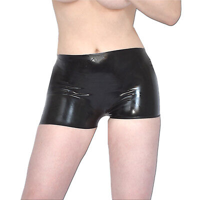 LATEX Gummi HOTPANTS/ Slip* rubber Shorts* S (36-38) glänzend* Panty* Dessous