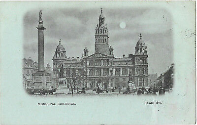 Scotland Glasgow 2 Early Vintage Postcards 18.9