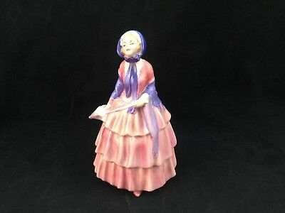 "Vintage Royal Doulton ""biddy"" Porcelain Ceramic Bone China Figurine-From England"