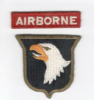 WW 2 US Army 101st Airborne Division 326th Engineer Batalion Patch Tab Inv# V634