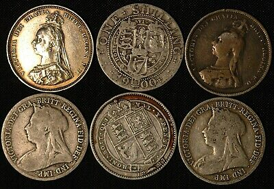 Shilling Victoria 1887 - 1901 Silver  Choose Your Date