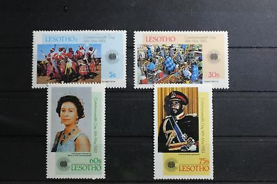Lesotho 415-418 ** postfrisch Commonwealth Tag #RU921