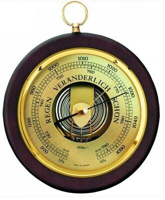 Fischer Barometer Nußbaum Made in Germany