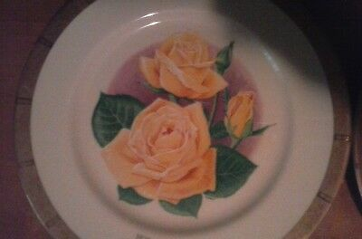 3 1975 All-America Rose Selections Collector Plates in great condision.