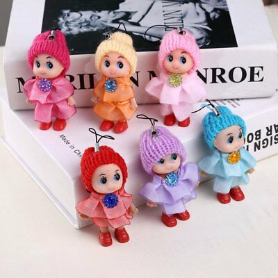 5Pcs Kids Toys Soft Interactive Baby Dolls Toy Mini Doll For Girl and Boy Hot