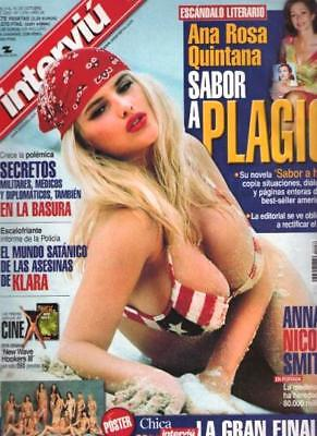 INTERVIU 1276 / ANNA NICOLE SMITH Great Pictorial !!! Complete with Giant Poster