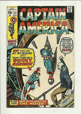 Captain America # 131 Very Good/Fine Condition!!! Affordable!!!