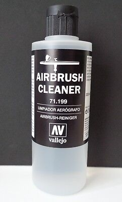 (3,75€/100ml) Vallejo 71199, Airbrush Cleaner / Airbrush-Reiniger, 200 ml, Neu