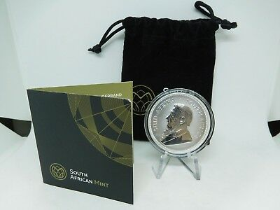 2017 South African 1oz Silver Krugerrand Uncirculated