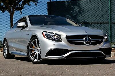 2016 Mercedes-Benz S-Class 63 AMG 2016 Mercedes-Benz S63 AMG Coupe