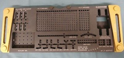 Depuy Synthes 1.3 Compact Midface Instrument Rack Tray Sterilization Holster Lab
