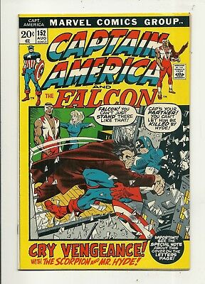 Captain America # 152 Very Fine Minus Condition!!! Affordable!!!