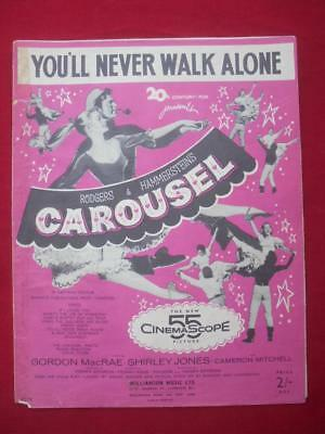 You'll Never Walk Alone from Carousel by Rodgers & Hammerstein. 1956 Williamson