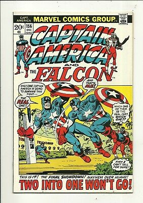 Captain America # 156 Battles Captain America?? Very Fine Minus Condition!!!