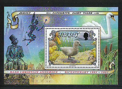 Jersey 2005 Fairy Tales ss--Attractive Folklore Topical (1161) MNH