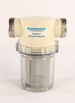 "New 18005 Sherwood Hypro 1"" Port Sea Water Strainer"