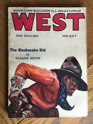 West - British Western Pulp - Mid-July 1939 - Ronald Flagg, Claude Rister etc