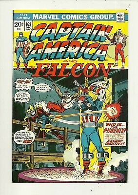Captain America # 168 Very Fine Minus Condition!!! Affordable!!