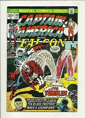 Captain America # 169 Black Panther!!! Very Fine Condition!!! Affordable!!