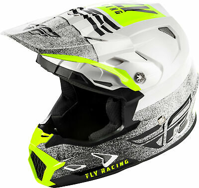 Fly Racing Youth Toxin MIPS Embargo Helmet / White/Black - All Sizes