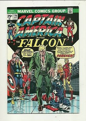 Captain America # 176 Near Mint Minus Condition!!! Affrodable!!!