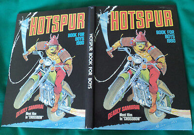 Hotspur Book for Boys. 1980. illustrated throughout. Hardback.