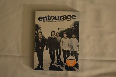 Entourage - The Complete Fifth Season (DVD, 2009, 3-Disc Set) New Shrink Wrapped