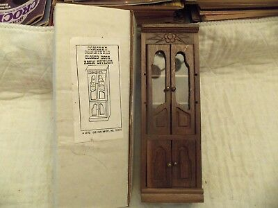 Vintage Concord Wooden Closed Door Room  Divider    New Old Stock