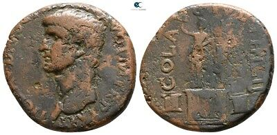 Savoca Coins Macedon Philippi Claudius Julius Caesar 9,14 g / 25 mm @WFG2230