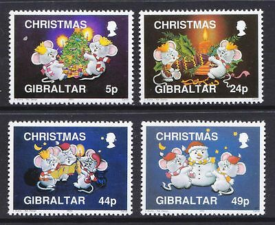 Gibraltar 1993 Christmas Issue - MNH Set - Cat £5.85 - (51)