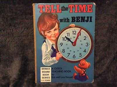 Tell The Time With Benji 1977 Book