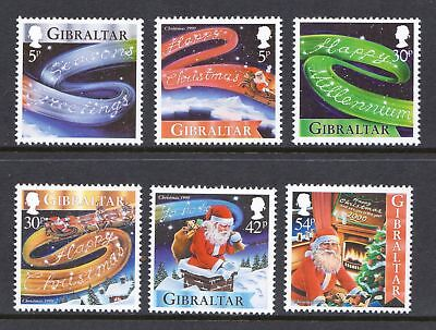 Gibraltar 1999 Christmas Issue - MNH Set - Cat £4.55 -  (84)
